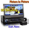 7 Fernsehapparat-Radio Zoll 1 LÄRM Auto-Audiospieler HD InSchlag USB-MP3 DVD BT (ES818G)
