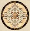 大理石のモザイク円形浮彫り(モザイク112)