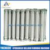 Acero inoxidable 304/316 manguito del metal flexible con los tejidos de acero