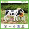 屋外の装飾的な置物の庭の樹脂牛彫像(NF86176)