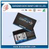 Cartes magnétiques de PVC de plastique coloré de norme de l'OIN