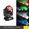 19 * 15W B 눈 K10 LED 광속 이동하는 맨 위 단계 빛