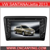 GPS에 Vw 산타나 또는 Jetta 2013년, Bluetooth를 위한 특별한 Car DVD Player. A8 Chipset Dual Core 1080P V-20 Disc WiFi 3G 인터넷 (CY-C243로)
