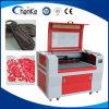 Machine de découpage acrylique en cuir de gravure de laser de CO2 de forces de défense principale