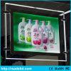 Pubblicità del contrassegno del cristallo dell'insegna della casella chiara LED