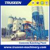 Famoso en la planta de procesamiento por lotes por lotes concreta fija africana 90m3/H