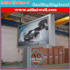 Outdoor Offset Pole Aluminum Scrolling Light Box Billboard
