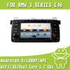 Navegación de las multimedias DVD GPS del coche con Android4.0 para BMW E46 (EW801)