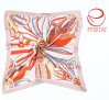 ペーズリーのデザインによって保証される純粋な絹の標準的なスカーフ