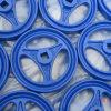 Голубые обеспеченные литейные колеса песка