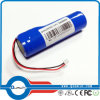 18650 paquete de la batería de litio de 3.7V 3400mAh
