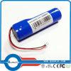 18650 блок батарей лития 3.7V 3400mAh