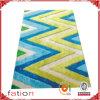 A forma colorida projeta o tapete Shaggy macio do tapete de área para a HOME