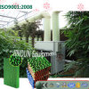 Garniture de refroidissement lavable Vert-Enduite pour la Chambre de volaille de serre chaude