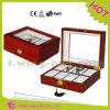 La exhibición China del reloj vende al por mayor la caja de reloj de madera para 8 ranuras