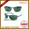 Großhandelsweinlese-Metallsonnenbrillen mit Shinny Farben-Bügel