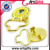 Divisa del metal de la alta calidad con el Pin de Safery