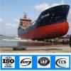 Sacos hinchables de lanzamiento flotantes inflables neumáticos certificados ISO del barco marina de la nave del caucho natural