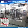 Automatische waschende füllende mit einer Kappe bedeckende Maschine für Haustier-Flasche