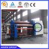 machine de roulement hydraulique de quatre rouleaux W12S-6X2500