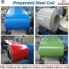 materiale d'acciaio PPGI di 0.14mm-0.8mm e bobina d'acciaio galvanizzata