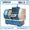 Hohe Präzisions-Aluminiumlegierung-Rad-Reparatur CNC-Drehbank Awr2840PC