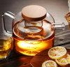 Bouilloire classique d'eau froide de bouilloire en verre de bac de thé de modèle avec le couvercle 750ml