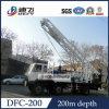 Installatie die van de Boring van de grote Diameter de Vrachtwagen Opgezette aan Kenia verkoopt