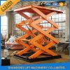 Stazionario Scissor la piattaforma dell'elevatore idraulico/piattaforma di sollevamento materiale