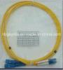 3.0 Cuerda de remiendo óptica a dos caras de fibra del Sc-LC SM