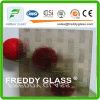 vidrio de ventana de cristal tejido bronce de los muebles del vidrio modelado de 4.6m m