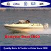 Barco da cabine Speed500 para o esporte