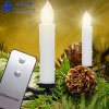 2014 o Yellow o mais novo Tea Light Battery Operated Candles para Windows