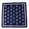 Neue Entwurfs-Uniform gedruckter Silk Polyester-Firmenzeichen-Schal (SF-007)