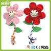 Brinquedo do animal de estimação do brinquedo da flor da corda do luxuoso do cão