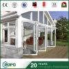 Puerta plegable plegable del PVC de la partición de la puerta de cristal de UPVC para la casa