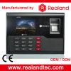 Realand 64 Bit-schwarze Farbe 2.8 Zoll-Bildschirm-Offline-Fingerabdruck-Zeit-Anwesenheit a-C121