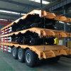 Lufeng 3 Axles 80 низкого кровати тонн трейлера Semi для перевозки