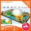Verwendeter Kind-im Freienspielplatz grosse Plättchen-Kind-Spiel-Spielzeug-Serie