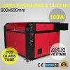 Kh9060 de Scherpe Machine van de Laser van de Machine van de Gravure van de Laser