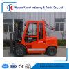 Xinchang A498bpgエンジンを搭載する4tonディーゼルフォークリフトCpcd40