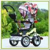 360 des Umdrehungs-Grad Luxus-4 in 1 Baby Stoller