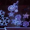 Decoración grande de las luces de la Navidad LED de la alameda de compras con diseño del copo de nieve