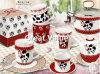 tasses de café 12oz personnalisées par porcelaine