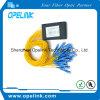 Pon/FTTH/CATV를 위한 Gpon 원거리 통신 1X32 플라스틱 상자 PLC 쪼개는 도구