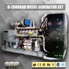 910kVA는 Cummins 60Hz 3phase가 강화한 유형 디젤 엔진 발전기를 연다