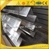 Perfil de aluminio de la protuberancia del ángulo 6063 T5