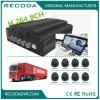 misura mobile di 8CH DVR per lo scuolabus con risoluzione completa 2tb 3G usato HDD 4G WiFi GPS di 1080P HD