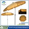 2mの屋外の家具(SY2003)のための円形の鋼鉄テラスの傘