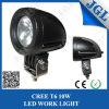 Luces campo a través redondas de la luz 10W del trabajo del LED 12volt impermeables